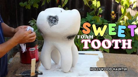 Carving & Sculpting A Giant Foam Tooth Prop For A Western