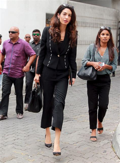 Amal Clooney Turns Down Contract For Luxury Brand, Faces