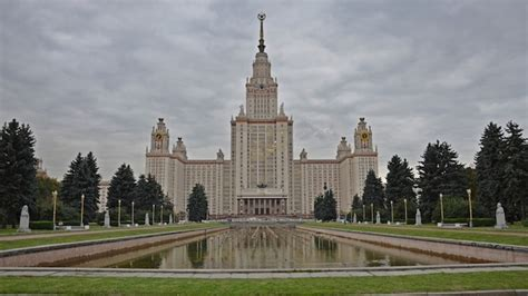 Moscow State University Makes World's Best Universities List