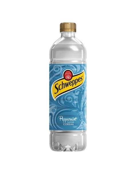 Ltr Schweppes Peppermint Cordial - South Eastern Beers