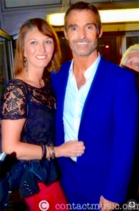 Marti Pellow with longtime girlfriend Eileen Catterson