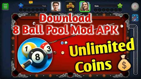 [100% Working] 8 Ball Pool Mod APK Unlimited Coins, Money