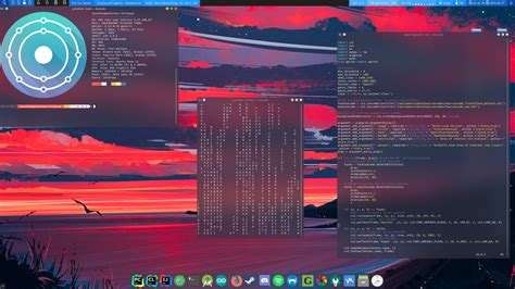I'm in love with blurred terminals [Plasma] : unixporn