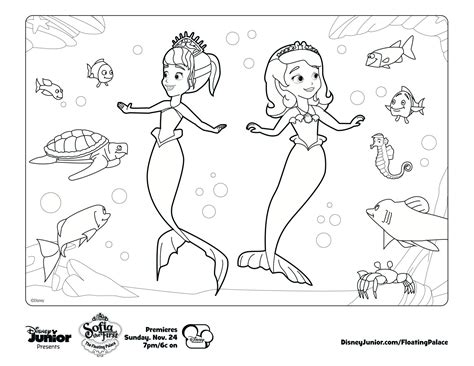 Color along with Sofia! | Coloring Pages | Pinterest