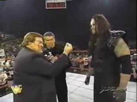 Reliving The Undertaker 1997 Moments, Undertaker Being