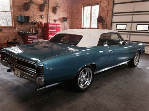1967 Chevrolet Chevelle SS Convertible for sale