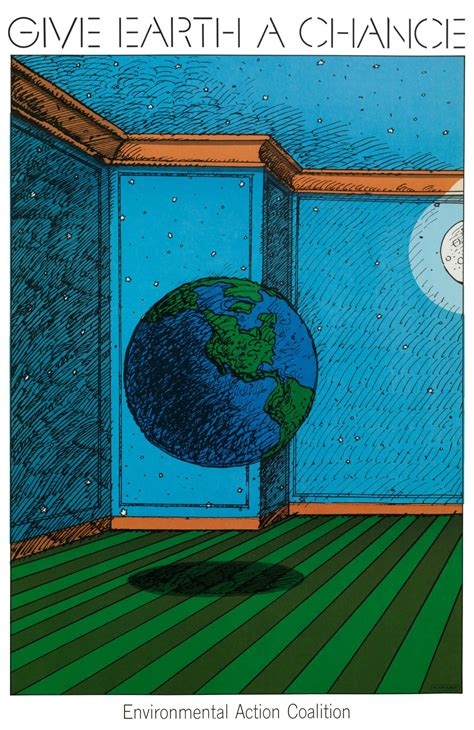 Milton Glaser   Store   Give Earth a Chance, 1970