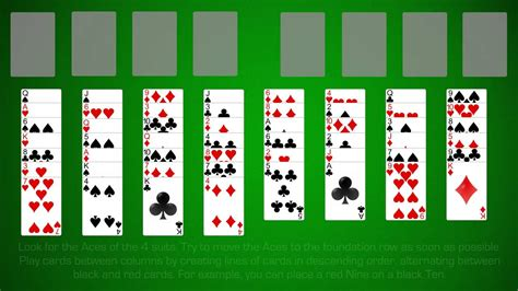 How To Play Free Cell Solitaire - YouTube