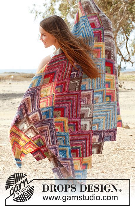 Moroccan colors / DROPS 145-24 - Free knitting patterns by