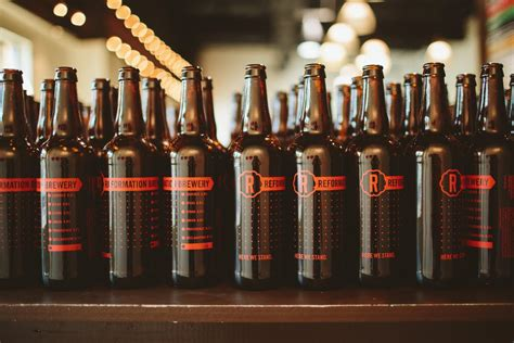Reformation Brewery's First Bottles, July 1st