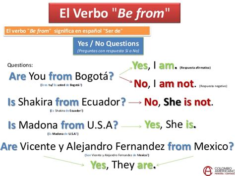 Course 1-Unit 2: Verb to be