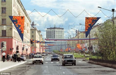 Siberian city which sees snow and ice for most of the year
