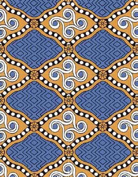 Reconstruction of a Minoan fabric pattern from the Lady B