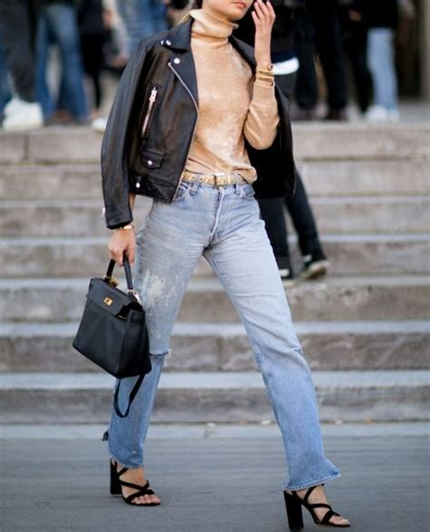 HOW TO WEAR STRAIGHT CUT JEANS | Blog and The City