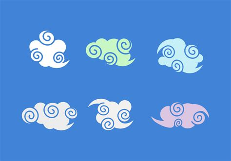 Free Chinese Clouds Vector Pack 108564 - Download Free