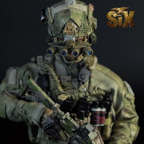"""Mini Times 1/6 Scale 12"""" US Navy Seal Team Six Action"""