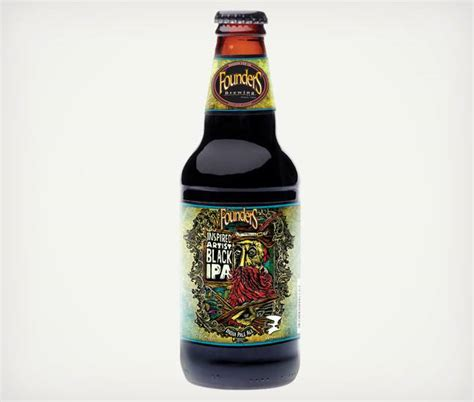 Founders Inspired Artist Black IPA   Cool Material