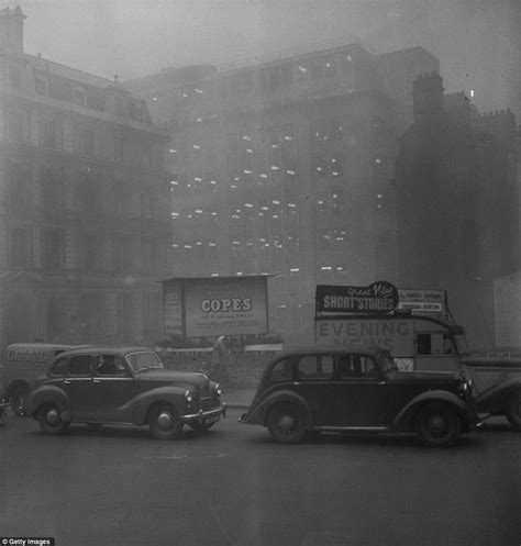Pea souper that killed 12,000: So black you couldn't see