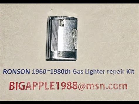 RONSON 1960~1980th Gas Lighter repair Kit**10(Not the