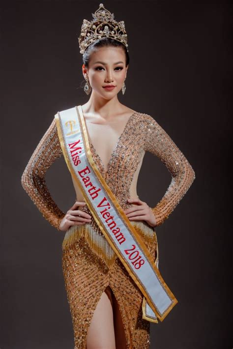 Phuong Khanh Nguyen crowned Miss Earth 2018 - Miss Vietnam