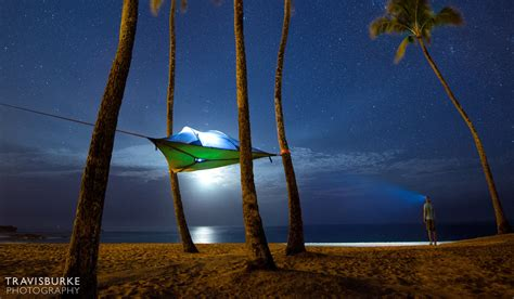 Camp in the Air: New Suspended Treehouse Tents and