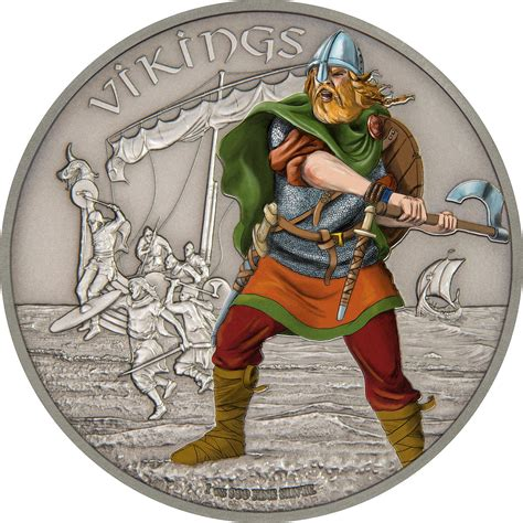 Vikings continue the NZ Mints Warriors of History silver